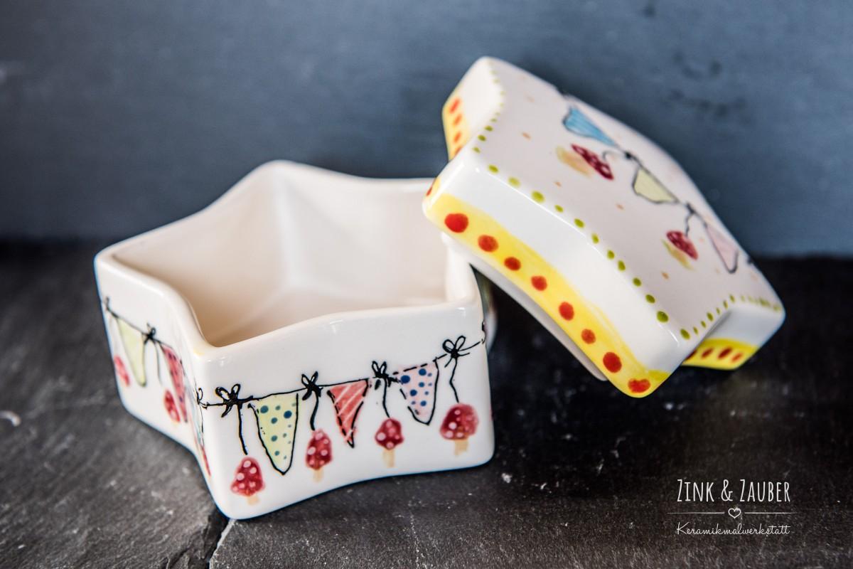 weihnachten keramik bemalen zink zauber. Black Bedroom Furniture Sets. Home Design Ideas