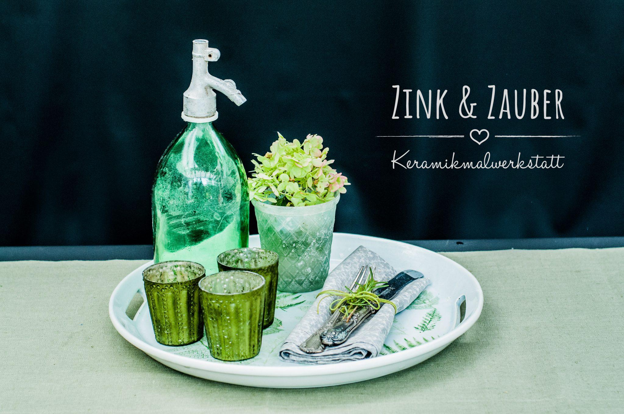 greenery der trend auf keramik zink zauber. Black Bedroom Furniture Sets. Home Design Ideas