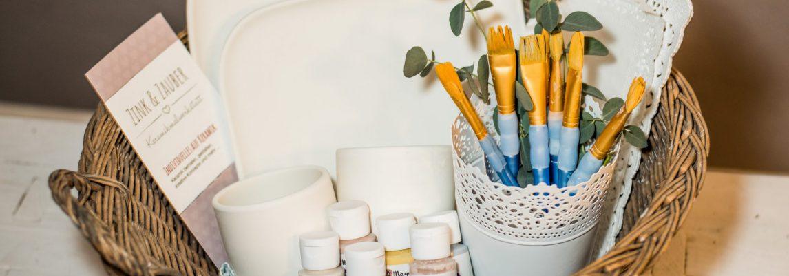 Zuhause Keramik Bemalen – oder Keramik to Go