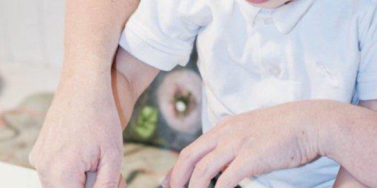 Was hat eine Birne mit Papi zu tun? Malen mit Kindern