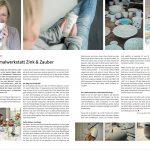Presseartikel in InTeam 1/2018 - Vom Zauber der Malerei - Die Keramikmalwerkstatt Zink & Zauber