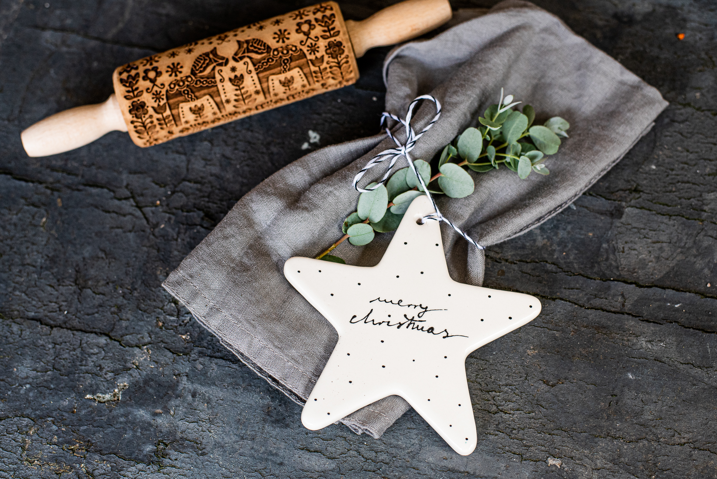 Sternanhänger Weihnachten