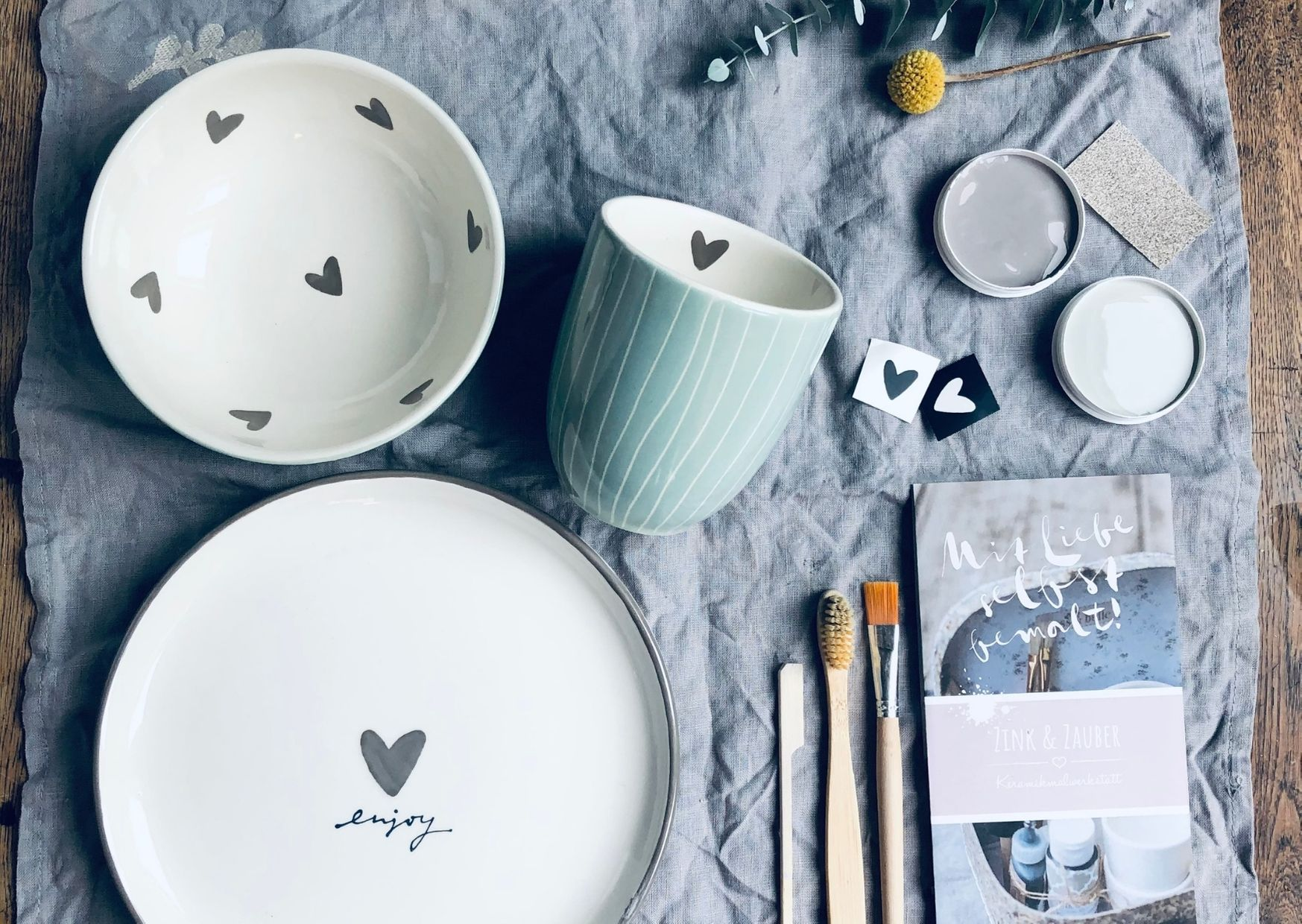 Keramikbemalen Entdeckerset 1